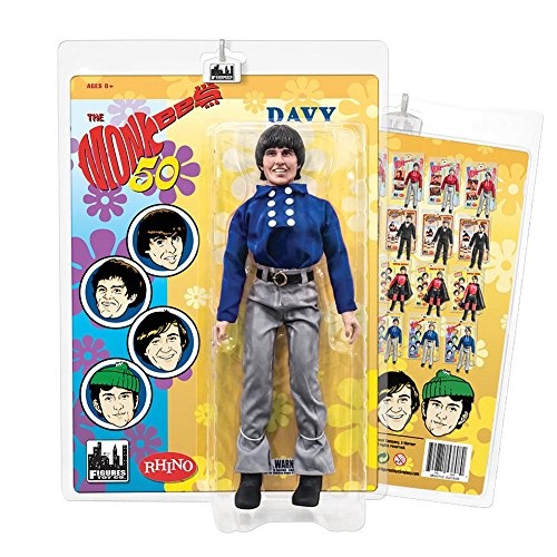 The Monkees 12 Inch Action Figures: Blue Band Outfit: Davy Jones