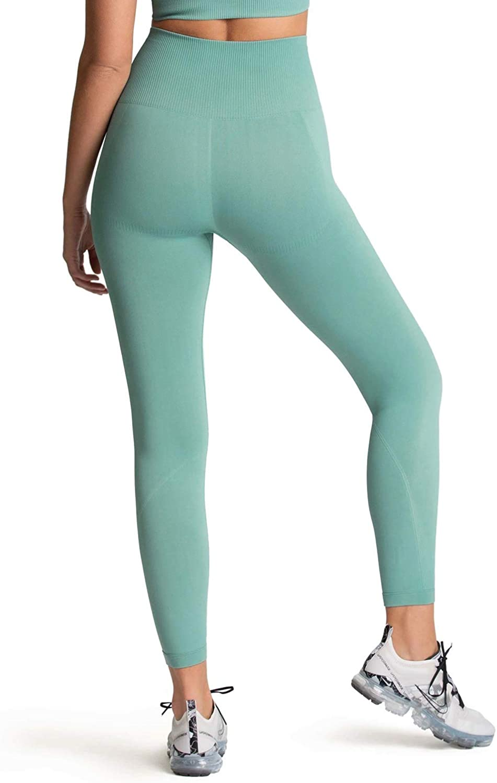 Womens Leggings High Waist Gym Yoga Workout Hyperflex Seamless Leggings Tights
