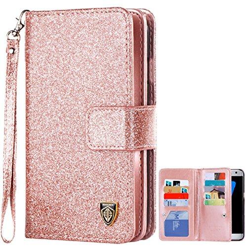 buy popular e6639 a99d8 Galaxy S7 Edge Case, S7 Edge Case, BENTOBEN Glitter Shiny - Import It All