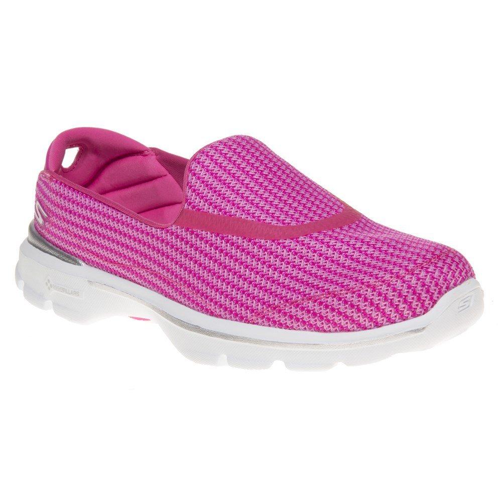 Skechers Go Walk 3 Womens Sneakers Pink