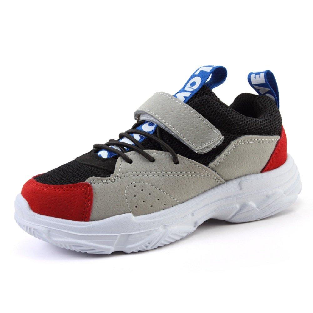 666a36363b629 KCHKUI-UK Mixte Enfant Chaussures de Multisports Outdoor Respirantes  Chaussures de Course Sneakers Gymnastique Fitness Agrandir l image