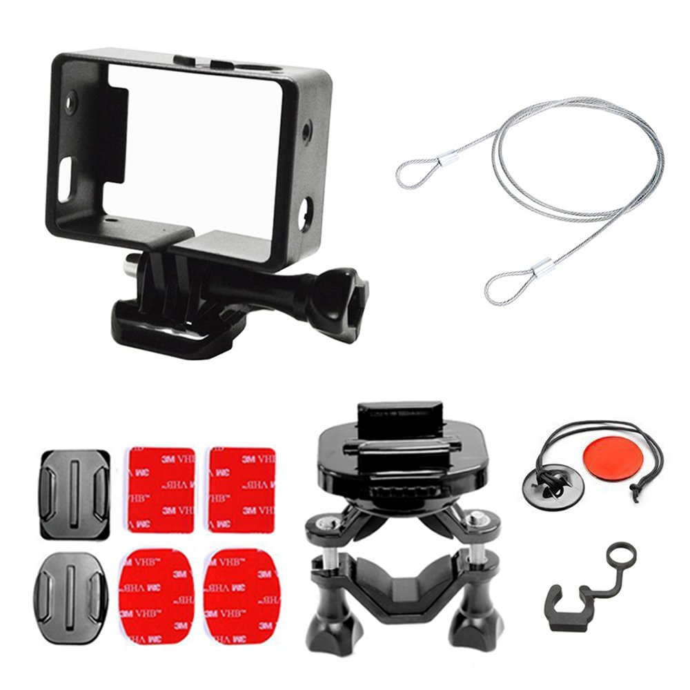 Greleaves Gopro Accesorios Essential Mounting Kits Motorcycle Bicycle Soporte Manillar Trípode Montura