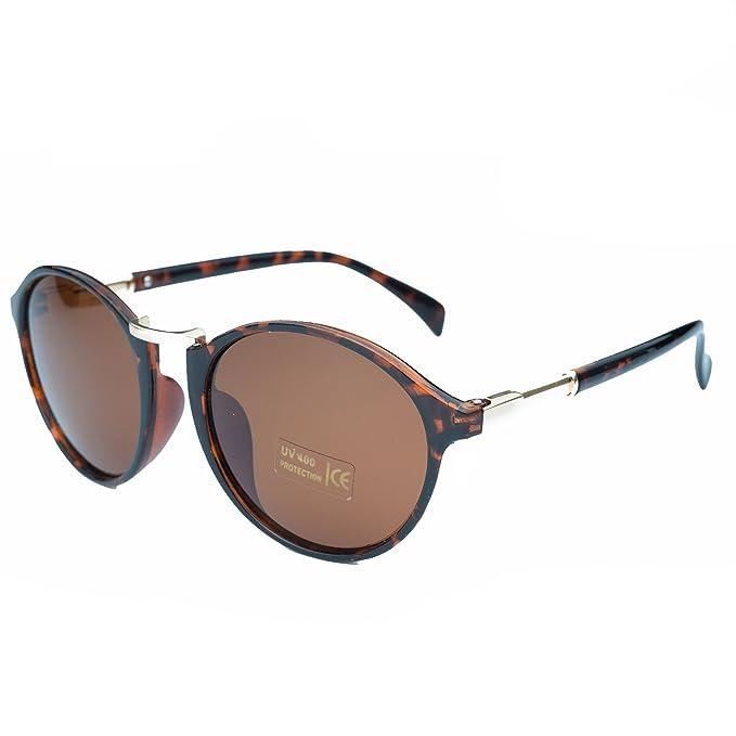 Jee Gafas de sol hombre mujer polarizadas cat eye 3120(leopardo)