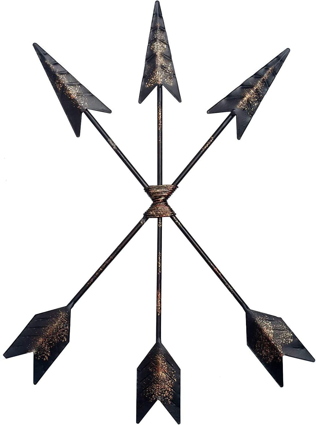 Toysdone Cast Iron Three Arrow Wall Decor