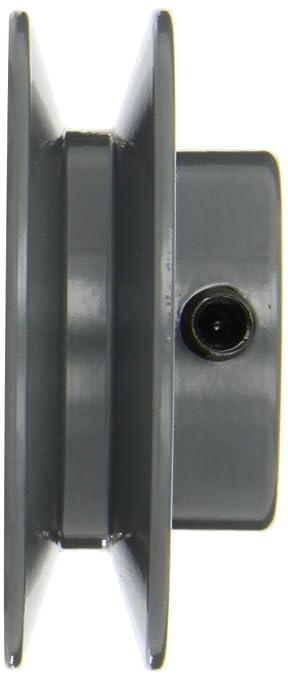 2.70 OD 1 Groove Gates AK27 Light Duty Web Sheaves 3//4 Bore AK Type