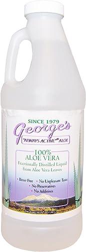 George s Aloe Vera, 100 Aloe Vera Liquid, 32 fl oz .94 l