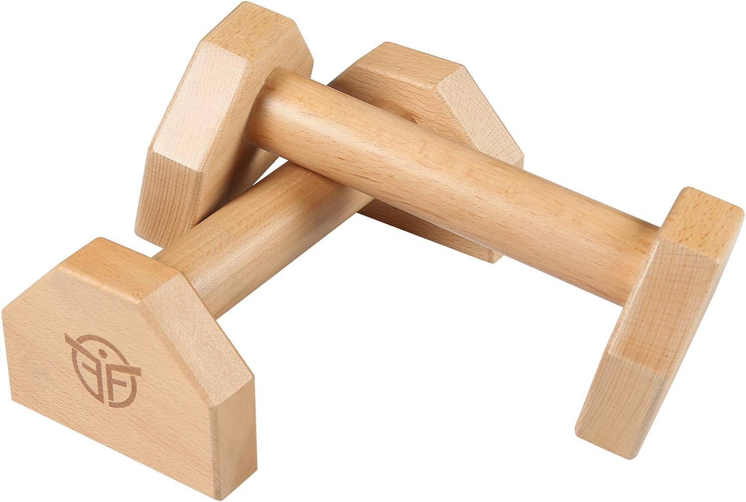 Liegestützgriffe Holz Griffe Liegestütze Fitness Calisthenics  Parallettes