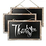 CALIFORNIA CADE ELECTRONIC Chalkboard - Chalkboard Sign-Vintage Framed Kitchen Chalkboard-Decorative Chalk Board for Rustic Wedding Signs, Kitchen Pantry & Wall Decor (3, 10.517.5 in)