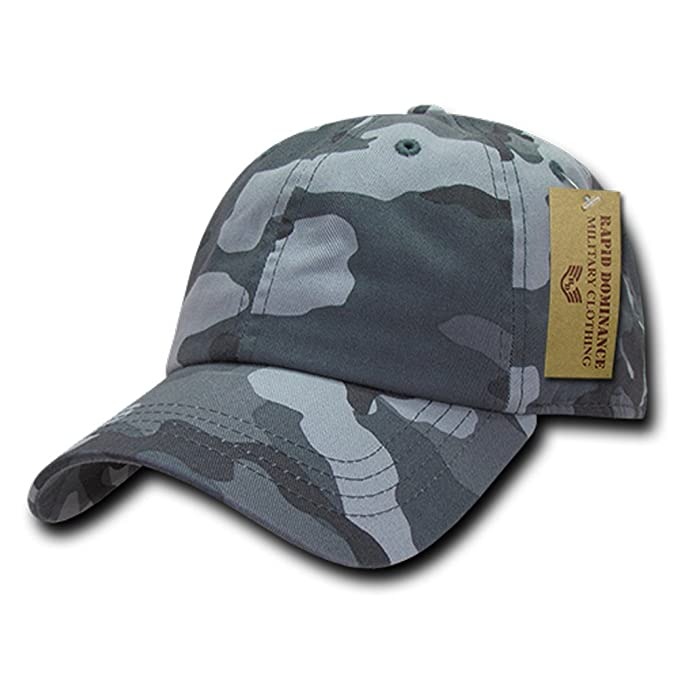 Amazon.com  Rapid Dominance Camo Polo Caps (One Size e8a29d9b656