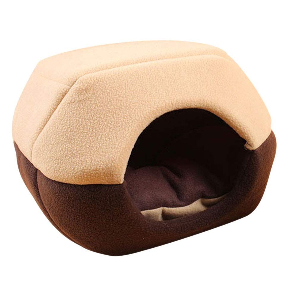 Foldable Soft Warm Winter Cat Dog Bed House Animal Puppy Cave Sleeping Mat Pad Nest Kennel Pet Supplies Hot Sale,A