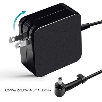 65W AC Adapter Charger for Asus X540 X540S X540SA X540UA X540L X540LA X553 X553MA X553S X553SA Zenbook UX305 UX305LA UX21A UX32A T300LA TP300LA Power ...