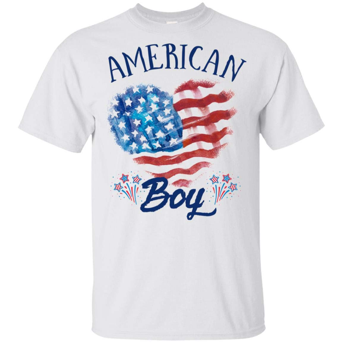 Americanboy Tshirt Family 4th Of July Shirt