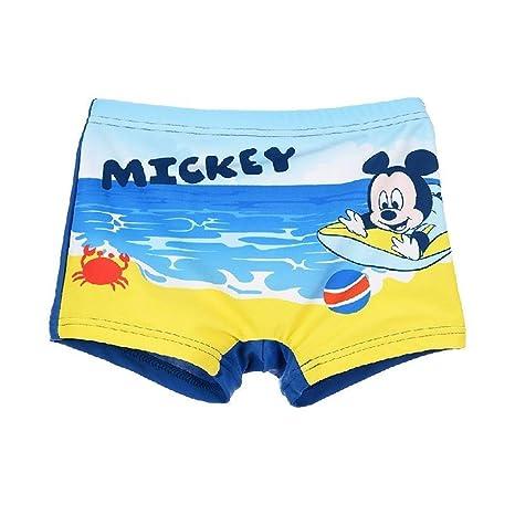 Disney SE0004CELESTE - Traje de playa de Mickey Mouse ...
