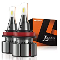 Deals on Sealight H11/H8/ H9 LED Headlight Bulbs Conversion Kit