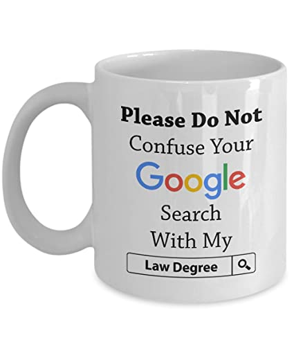 Amazon Funny Lawyers Mug