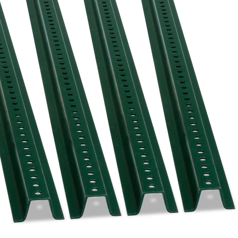 U-Channel Sign Post by SmartSign, Heavy-Duty | 6' Tall Baked Enamel Steel Post - Pack of 4