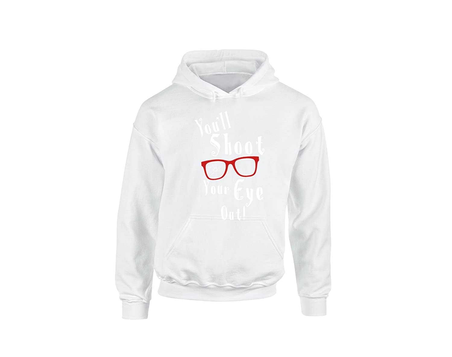 H/&T Shirt Hoodies for Women Men Ugly Christmas Shirts Youll Shoot Your Eye Out Sweats