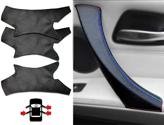 Interior Door Handle SET- Inner Door Handles for E90 E91 E92 and M3 - M Sport Interior 3Pcs LHD Kit - 3 Series Car Door Handle
