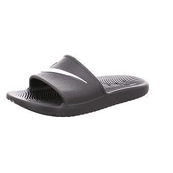 3c2be3bd8fb6 NIKE Men s Kawa Shower Slide Sandals Black White Size 15 M US   Amazon.co.uk  Sports   Outdoors