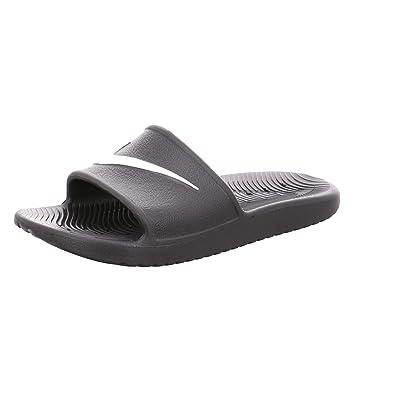 Schuhe Herren Nike Kawa Shower Slide Sandalen Schwarz Weiß Schwarz Einzigartig Designed