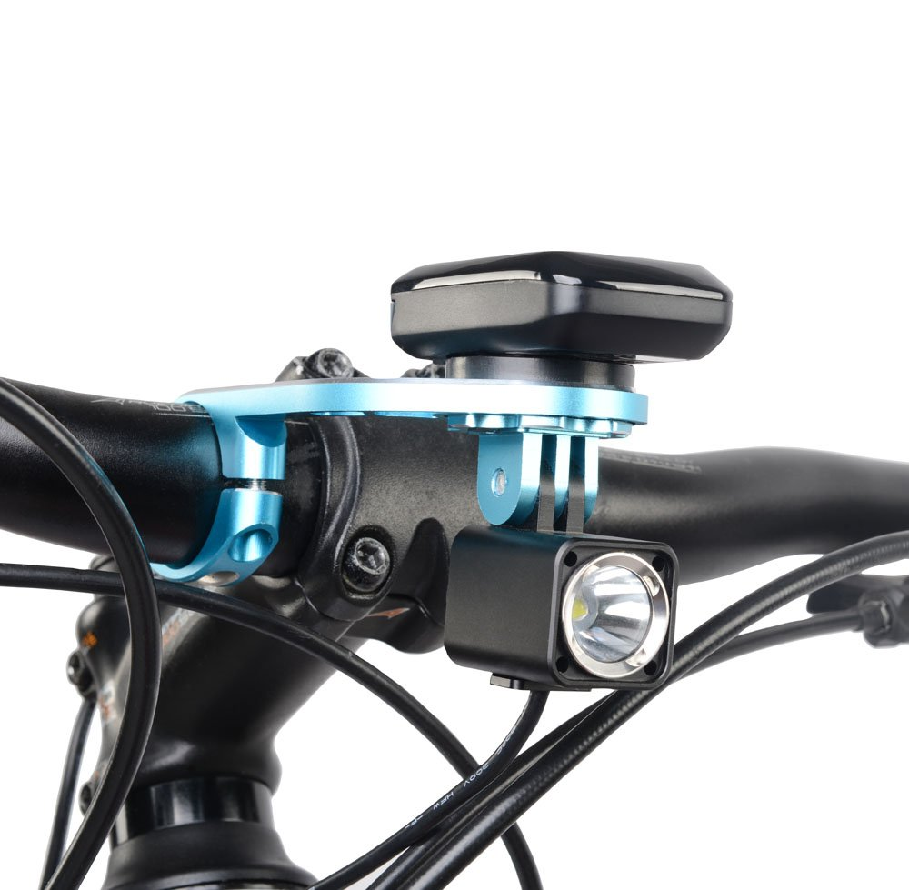 TrustFire Garmin Bike Mount,Aluminum Out Front Computer Mount for Garmin Bryton GoPro,Compatible with 31.8mm 25.4mm Handlebar by TrustFire (Image #6)