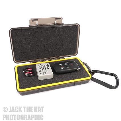 Pixel Peeper - Funda rígida para baterías de cámara, Tarjetas de ...