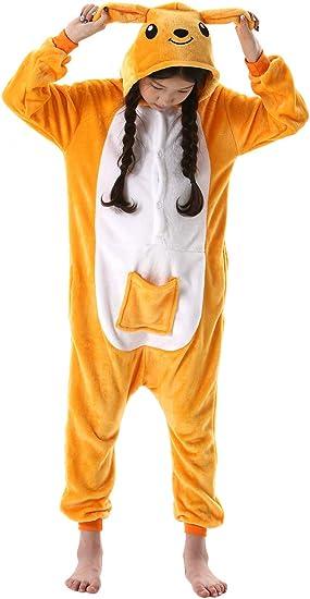 CityComfort Costume Intero da Pigiama Tutina Cosplay per Bambini Kigurumi Unicorno Gatto Leone Scimmia Tutina da Neonato Simpatici Pigiami per Bambina