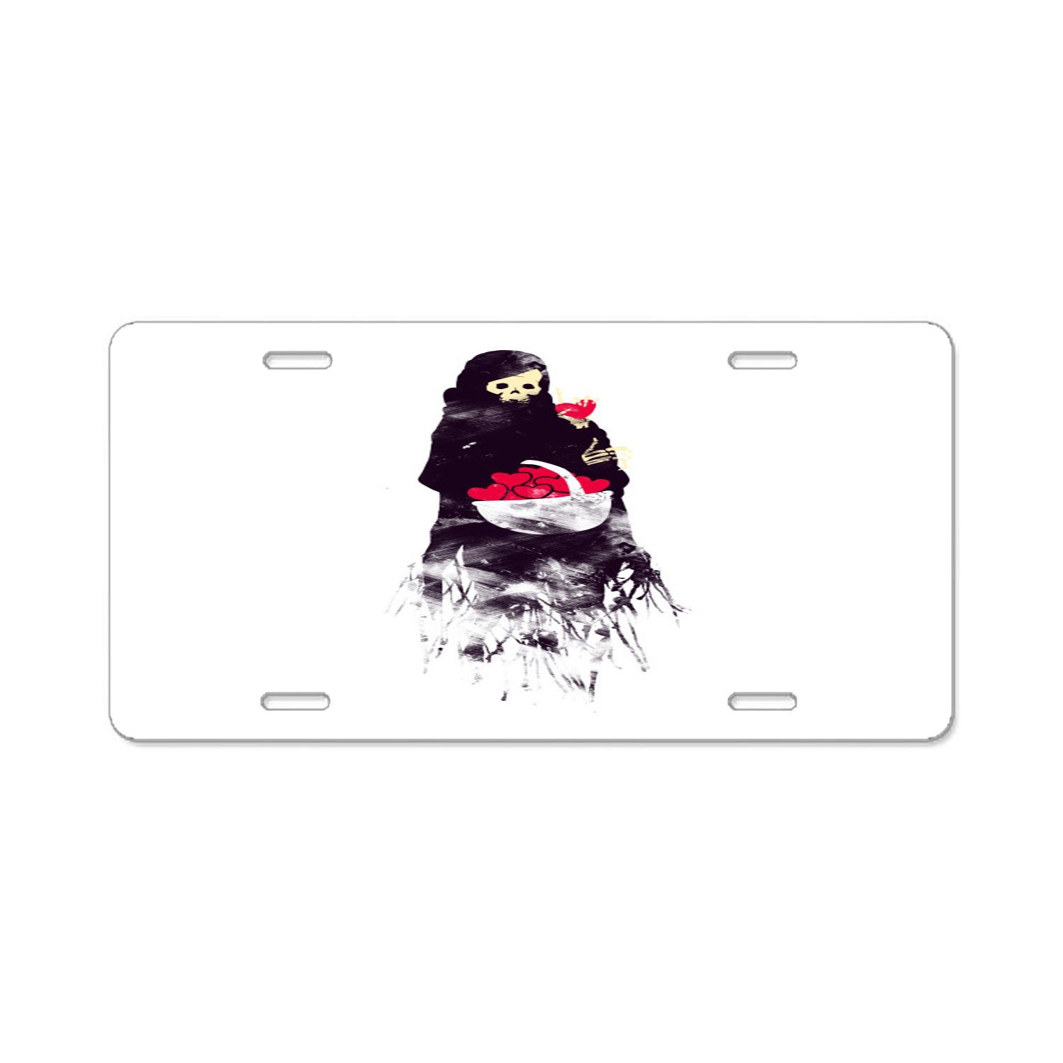 Bchengquch American Automobile Plate Frame Covers Love Bidoof Vanity Metal Novelty License Plate Tag Sign