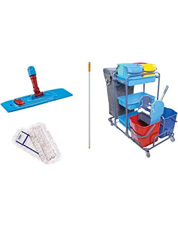 Aviva esila Master Lavado carro carrito de limpieza (2 x 20 l Cubo Prensa –
