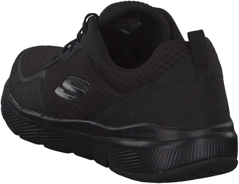 mini emparedado Reacondicionamiento  Skechers 52954/BBK Flex Advantage 3.0 Men's Trainers Black: Amazon.co.uk:  Shoes & Bags