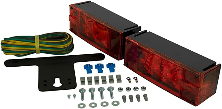 Blazer International C7280 LED Low Profile Submersible Trailer Light Kit