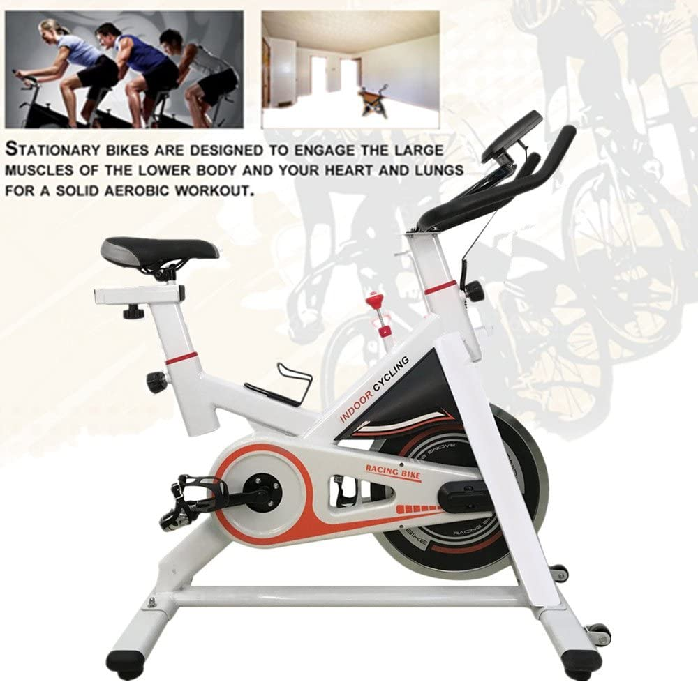 KinshopS Spinning Bikes con 13 kg Volante de inercia, spinred ...