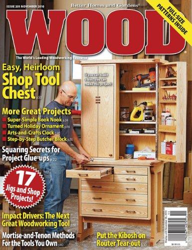 Wood Amazoncom Magazines - Better homes and gardens wood magazine
