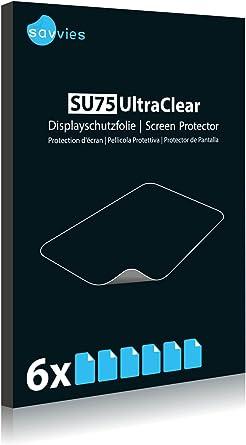 Amazon.com: Bedifol 6X Savvies Ultra-Clear Screen Protector ...