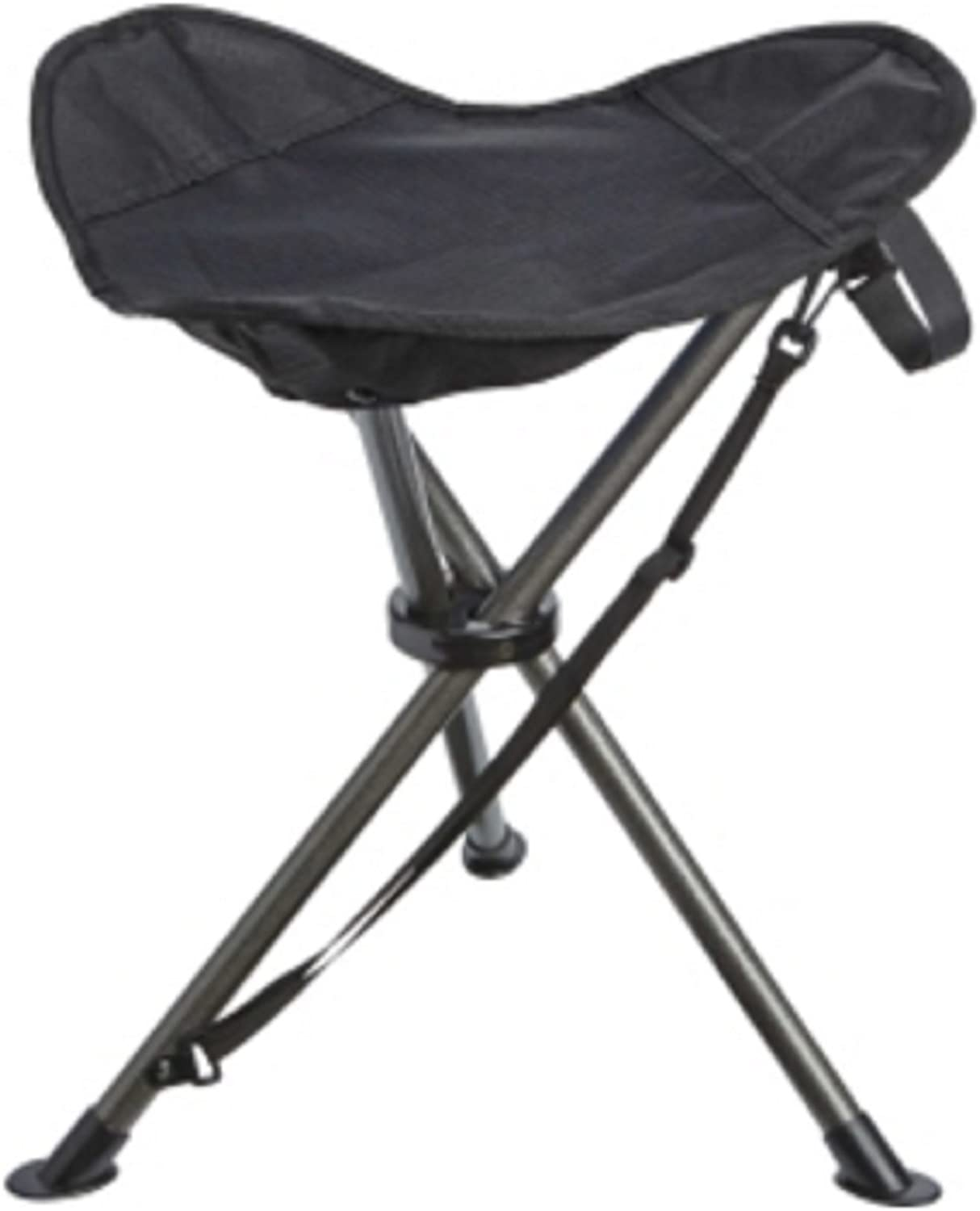 Quest Oversized Folding Stool in Several Colors, Portable for Camping, Sporting Events, or Back Yard