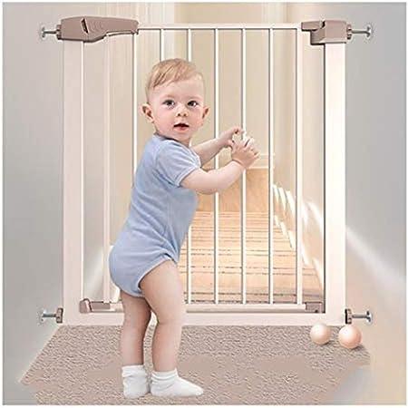 HN-Baby Gate La Seguridad del Bebé Puertas De La Escalera Barandilla De Seguridad For Niños Puerta De La Cerca De Protección Libre De Perforación For Mascotas Barandilla Aislamiento: Amazon.es: Hogar