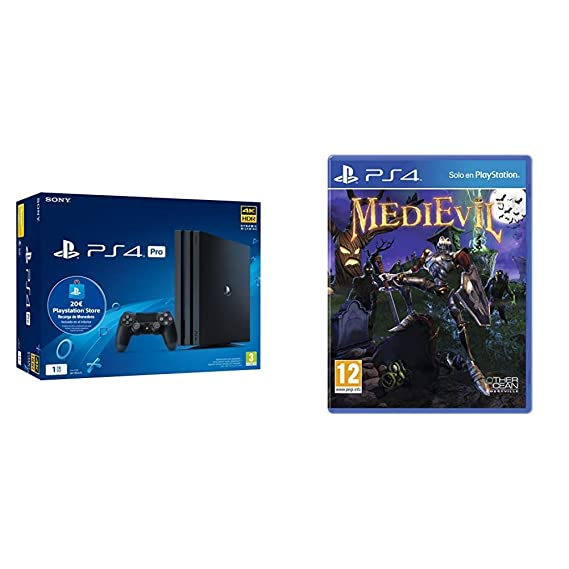 Sony Playstation 4 Pro (PS4) Consola de 1TB + 20 euros ...