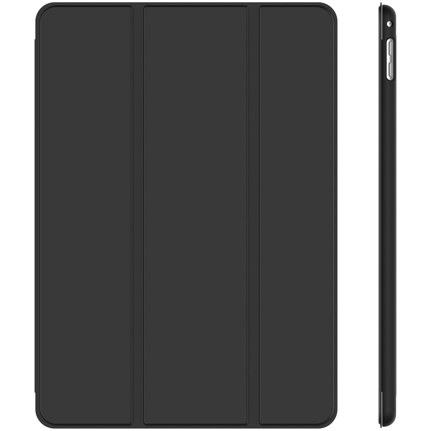 JETech Case for Apple iPad Mini 4, Smart Cover with Auto Sleep/Wake, Black