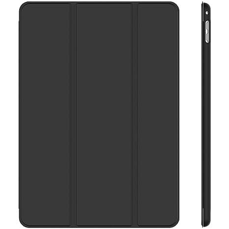 JETech Hülle für iPad Mini 4, Schutzhülle mit Ständer Funktion und Auto Schlafen/Wachen, Schwarz