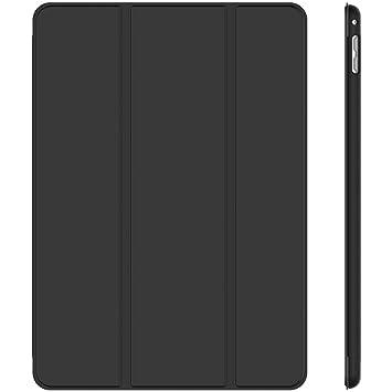 JETech 3280- Funda para iPad mini 4, carcasa con soporte función, auto-sueño / estela, negro
