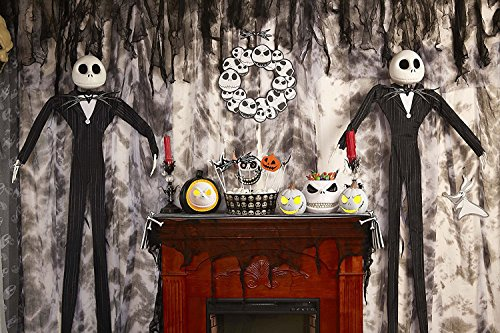 [The Nightmare Before Christmas Jack Skellington Hanging Spooky Haunted House Prop Halloween Decor (2)] (Scary Ragdoll Costumes)