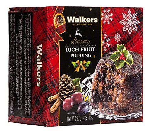 Walkers Shortbread Rich Fruit Pudding, 8 Ounce, 6 Count