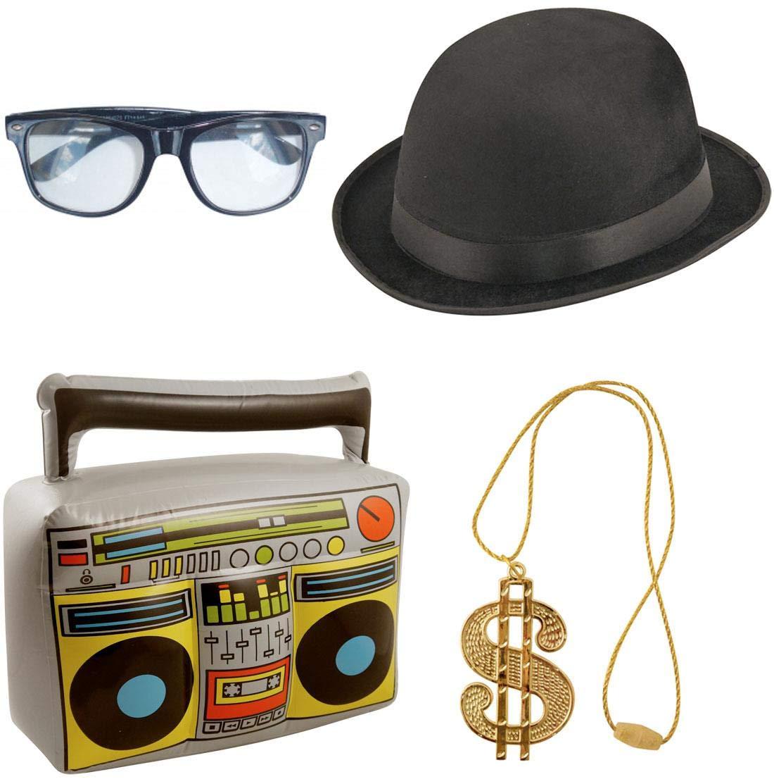 Islander Fashions Unisex Gangster Hip Hop 80s Disfraz Disfraz ...