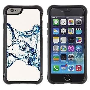 LASTONE PHONE CASE / Suave Silicona Caso Carcasa de Caucho Funda para Apple Iphone 6 / Water Effect Minimalist Stairs