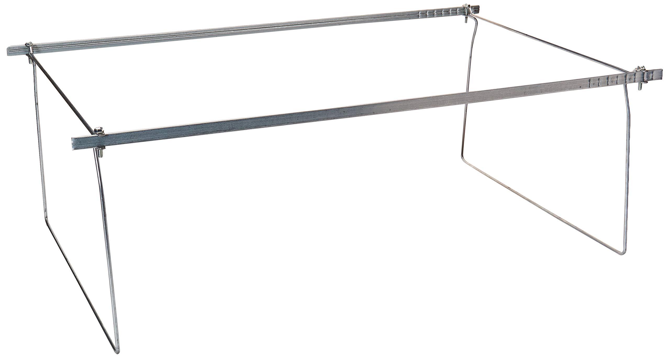 Smead Steel Hanging File Folder Frames, Legal Size, Steel, 2 per Pack (64873) by Smead