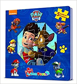 Mi primer libro puzle Paw Patrol   Patrulla Canina. Libro