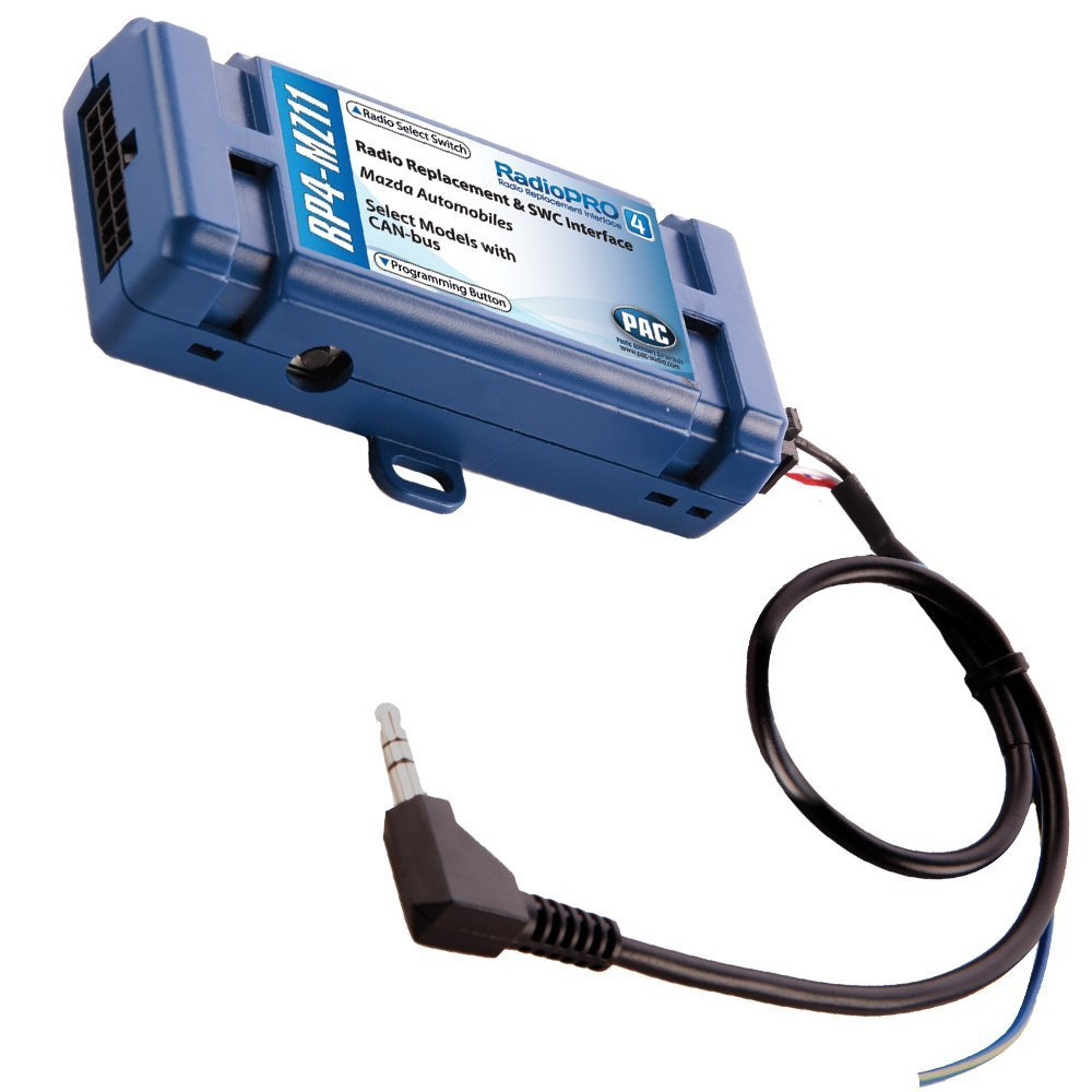 PAC RP4-MZ11 All-in-One Radio Replacement /& Steering Wheel Control Interface for Select Mazda Vehicles AAMP of America
