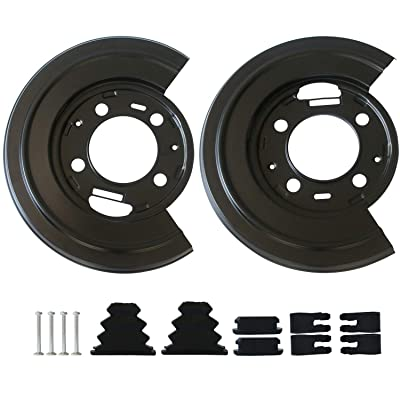 Rear Brake Dust Shield Backing Plates Pair For Ford F250 F350 Replacement OE 924-212 Excursion 2 Pack: Automotive