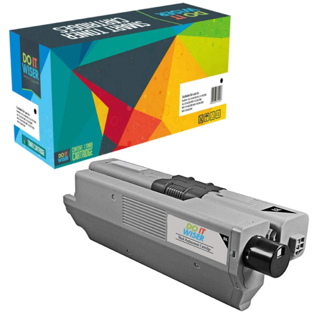 Compatibles pour Oki C510DN C511DN C530DN C531DN MC561DN MC562DN MC562DNW MC562W Do it Wiser 4 Cartouches de Toner 5,000 Pages