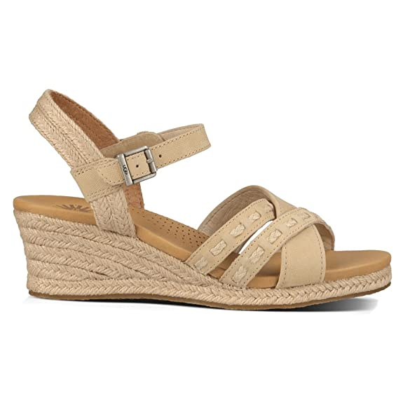 Amazon.com | UGG Women's, Mairi Wegde Espadrille Sandals | Platforms &  Wedges